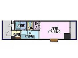 田宮ビル[3階]の間取り