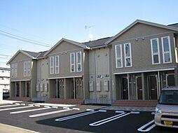 栃木県栃木市平柳町2の賃貸アパートの外観