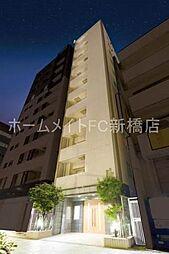 東京都中央区新川2丁目の賃貸マンションの外観