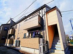 埼玉県所沢市星の宮2丁目の賃貸アパートの外観