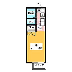 ジュネスO[1階]の間取り