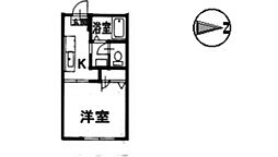 アルカディア 1棟[105号室]の間取り