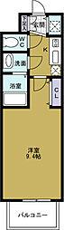 アドバンス大阪ベイパレス[10階]の間取り