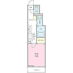 (仮称)船橋市海神町2丁目プロジェクト[206号室]の間取り