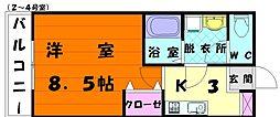 F&A香住ヶ丘[1階]の間取り