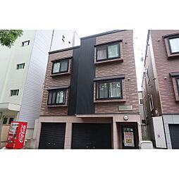 北海道札幌市豊平区豊平八条9丁目の賃貸アパートの外観