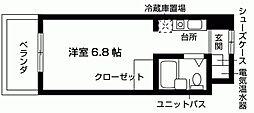 加島ハイツ[103号室号室]の間取り