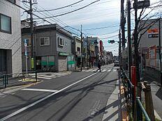 中杉通り(鷺ノ宮駅方面)