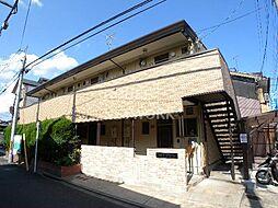 京都府京都市上京区相国寺門前町の賃貸アパートの外観