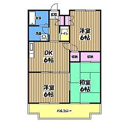 メゾン光陵[3階]の間取り