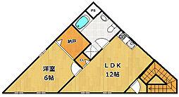 甲子園STビル[2階]の間取り