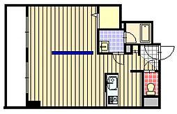 北海道札幌市中央区南3条東3丁目の賃貸マンションの間取り