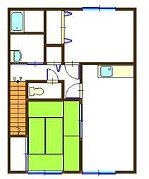 ウェルハーモニー[2階]の間取り