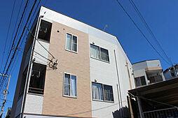 広島県廿日市市山陽園の賃貸アパートの外観