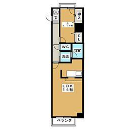 LE CENTENAIRE[6階]の間取り