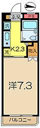 神奈川県横浜市南区南太田2丁目の賃貸マンションの間取り