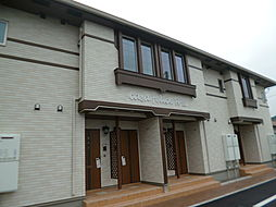 愛媛県新居浜市政枝町2丁目の賃貸アパートの外観