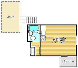 シャンテ浅草橋II[3階]の間取り
