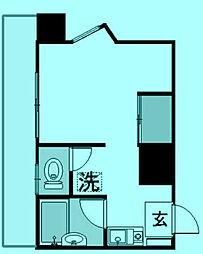 ウィズKYH[8階]の間取り