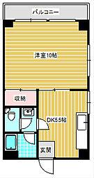 阪下ハウスマンションB棟[707号室]の間取り