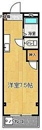 ドリームハウス[302号室]の間取り