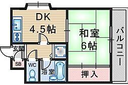 久保ビル[3階]の間取り