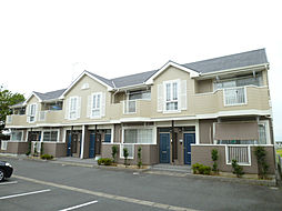 静岡県磐田市刑部島の賃貸アパートの外観