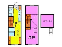 [テラスハウス] 愛知県大府市桃山町3丁目 の賃貸【/】の間取り