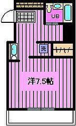 ベルセ別所[5階]の間取り