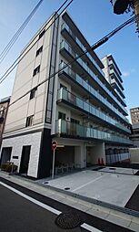 東京都大田区萩中3丁目の賃貸マンションの外観