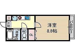 Y-POCKET[4階]の間取り