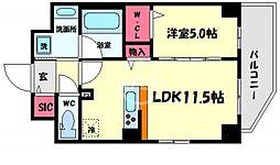 (仮称)合資会社 信宣M 5階1LDKの間取り