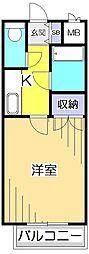 キャロットハウス[1階]の間取り