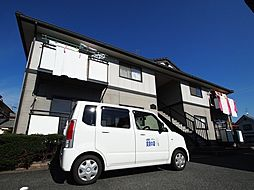 奈良県香芝市鎌田の賃貸アパートの外観