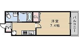 Marks昭和町[1104号室]の間取り