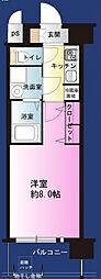 サムティ福島NORTH[9階]の間取り