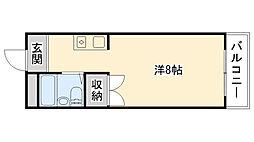 マンションRIKO[502号室]の間取り