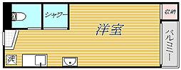 東京都台東区浅草橋2丁目の賃貸アパートの間取り