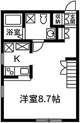 プリマ前橋六番館103[1階]の間取り