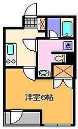b´CASA  Moderna[3階]の間取り