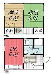 [一戸建] 千葉県佐倉市西志津4丁目 の賃貸【/】の間取り