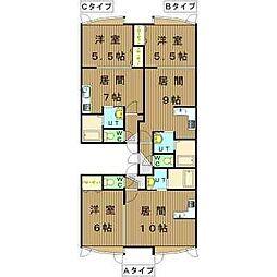 札幌市営南北線 北34条駅 徒歩2分の賃貸アパート 2階1LDKの間取り