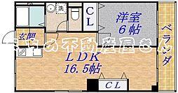 大成ビル[3階]の間取り