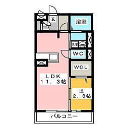 プロシードIII[2階]の間取り