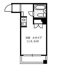 アテネハイム[3階]の間取り