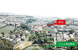 土地(矢切駅から徒歩18分、135.97m²、2,470万円)
