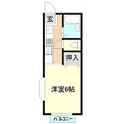 マイステージ22番館[2階]の間取り