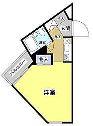 カーサ・ミラ浜松[2階]の間取り