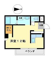 ノベル(novel)[6階]の間取り