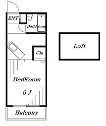 ラ・プリマヴェーラ[1階]の間取り